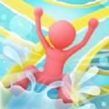 疯狂水滑梯派对游戏