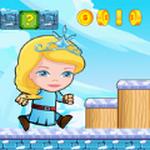 冰公主冬季跑步冒险